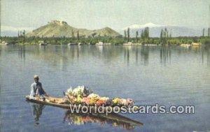 Dal Lake, Sninagar Kashmir, India 1956