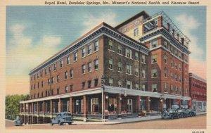 EXCELSIOR SPRINGS, Missouri ,1930-1940s ; Royal Hotel - Missouri's National H...