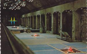Interior View, The Powerhouse, Hydroelectric Turbines, Peace River, Bennett D...