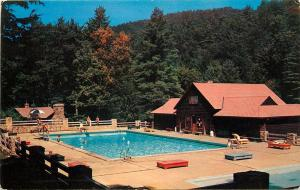 WATOGA STATE PARK, West Virginia WV SWIMMING POOL ca 1950s-60s Pocahontas
