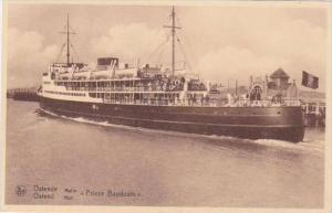 Belgium Oostende Steamship Prince Baudouin