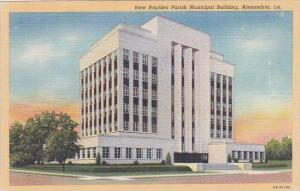 Louisiana Alexandria New Rapides Parish Municipal Building