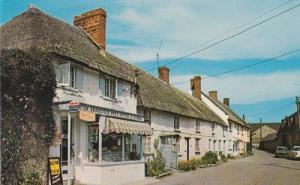 Burton Bradstock Dorset Royal Mail Post Office Postcard Mint