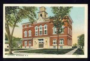Rochester, New Hampshire/NH Postcard, City Hall