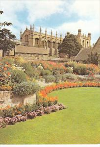 England Oxford Memorial Gardens With Christ Church Great Hall