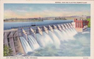Arkansas Hot Springs Remmel Dam and Electric Power Plant Curteich