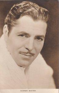 RP: Warner Baxter, American film actor, 1910-40s