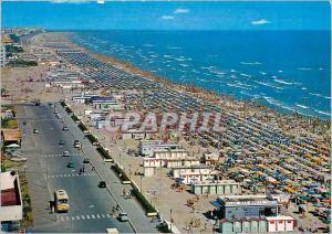 Postcard Modern Miramare di Rimini Beach to Sea