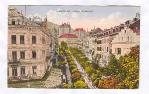 Karlsbad , Czech Republic, PU-1927 ; Untere Parkstrasse