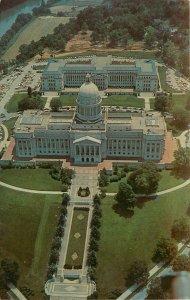 Capitol Frankfurt Kentucky KY aerial view Postcard