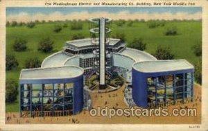 Westinghouse Bldg. New York Worlds Fair 1939 Exhibition 1939