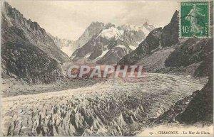 Old Postcard Chamonix La Mer de Glace