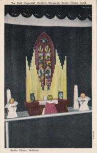 Indiana Santa Claus Land The Doll Organist Santa's Museum 1954 Curteich