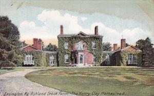 Kentucky Lexington Ashland Stock Farm The Henry Clay Homestead