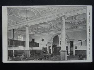 Kent TUNBRIDGE WELLS Church of King Charles The Martyr Interior - Old Postcard