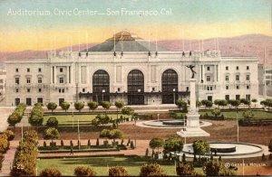 California San Francisco Auditorium Civic Center