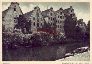CONTINENTAL-SIZE LUBECK, Germany - SALZSPEICHER AN DER TRAVE