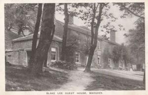 Blake Lee Hotel Guest House Marsden Yorkshire Antique Postcard