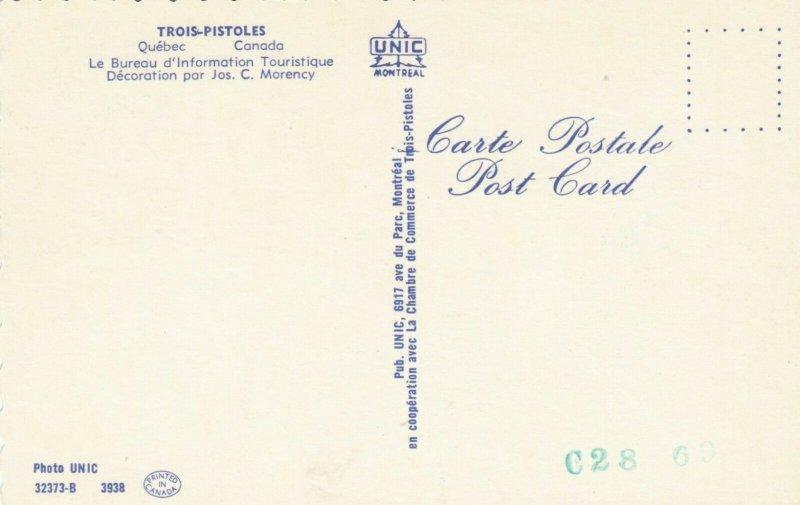 TROIS-PISTOLES , Quebec , 1950-60s ; Tourist Information Bureau