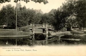 MA - Newton. In Farlow Park