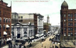 Sixteenth & Farnam Sts. Omaha NE unused
