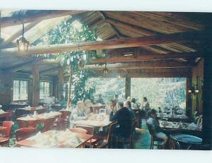 Unused Pre-1980 RESTAURANT SCENE Big Sur - Near Carmel California CA B8453