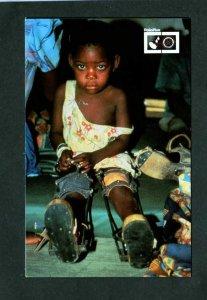 Malawi International Rotary Club Polio Plus Vaccines Postcard Carte Postale