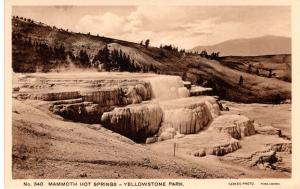 Mammoth Hot Springs, Yellowstone National Park, 1914