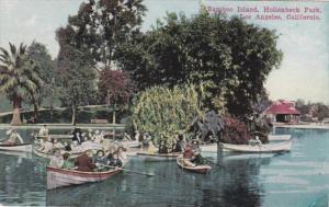 California Los Angeles Bamboo Island Hollenbeck Park 1917