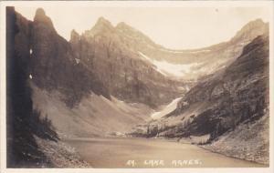 Canada Banff Lake Agnes Real Photo