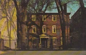 The Wadsworth Longfellow House Portland Maine 1967