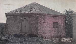Fort Snelling Block House, Minnesota, Early Hand Colored Postcard, Used in 1911
