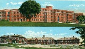 Postcard Early Views of State Hospital & Nurses Home in Beacon, N.Y.     R6