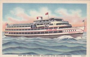 Wilson Line S S Delaware Belle Curteich