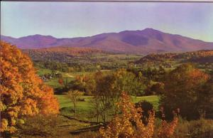 Country Scene with Small Mountains, Sheffield, Vermont, 5.5 X 8.5 inches