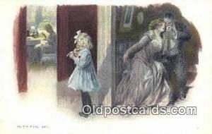 Artist Signed Postcard Post Cards Old Vintage Antique  Artist Unknown Postcar...