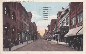 ALTOONA , Pennsylvania, PU-1926 ; 11th Avenue, Looking West