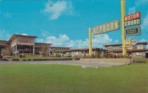 Hepburn Motor Court , CALGARY , Alberta , Canada , 50-60s