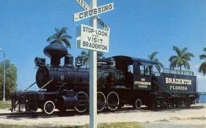 FL - Bradenton. Old Wood-Burning Locomotive