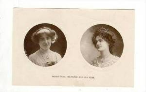 Stage Actresses Misses Sybil Arundale and Lily Elsie, 00-10s