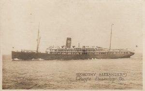 Ocean Liner Dorthy Alexander , Pacific Steamship Company , 00-10s