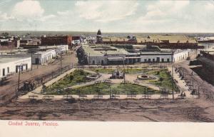 CIUDAD JUAREZ, Mexico, 1900-1910's; General View
