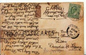 Genealogy Postcard - Beck - Paignton - Near Torquay - Devonshire - Ref 6393A