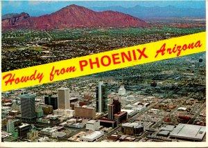 Arizona Phoenix Aerial View 1981