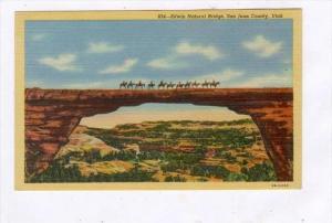 Horsemen on Edwin Natural Bridge, San Juan County, Utah, 30-40s, 30-40s