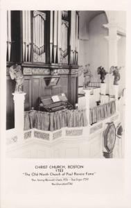 RP; Interior, Avery-Bennett Clock, Oran & Cherubum, Christ Church, Boston , M...