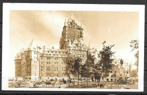 1952 Canada, Quebec City, Chateau Frontenac, mailed to USA