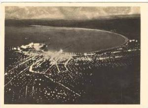 RP Cape Town at Night, S.A. 1930s
