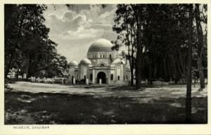tanzania, ZANZIBAR, Museum (1930s) Postcard