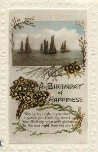 Postcard Greetings birthday multi view